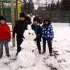 Zabawy na śniegu - klasa IIIb