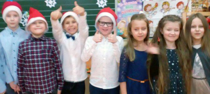 Spotkanie świąteczne w klasie Ia