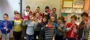 Walentynki w klasie 1d