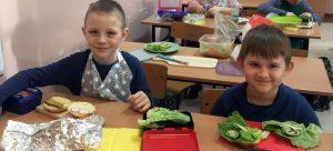 Pyszne i zdrowe kanapki w klasie Id
