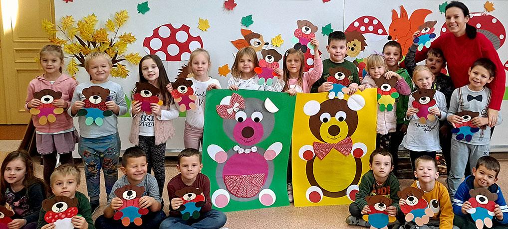 Światowy Dzień Pluszowego Misia oddział przedszkolny 0b