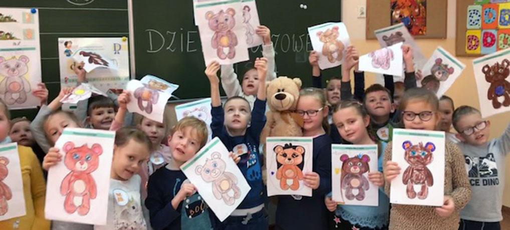 Światowy Dzień Pluszowego Misia oddział przedszkolny 0a