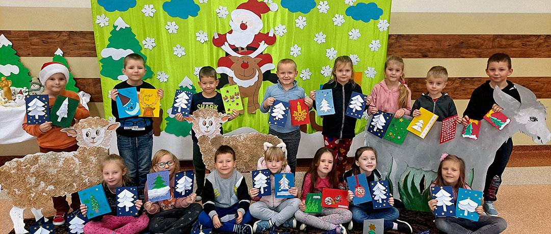 Kartki świąteczne oddział przedszkolny 0b