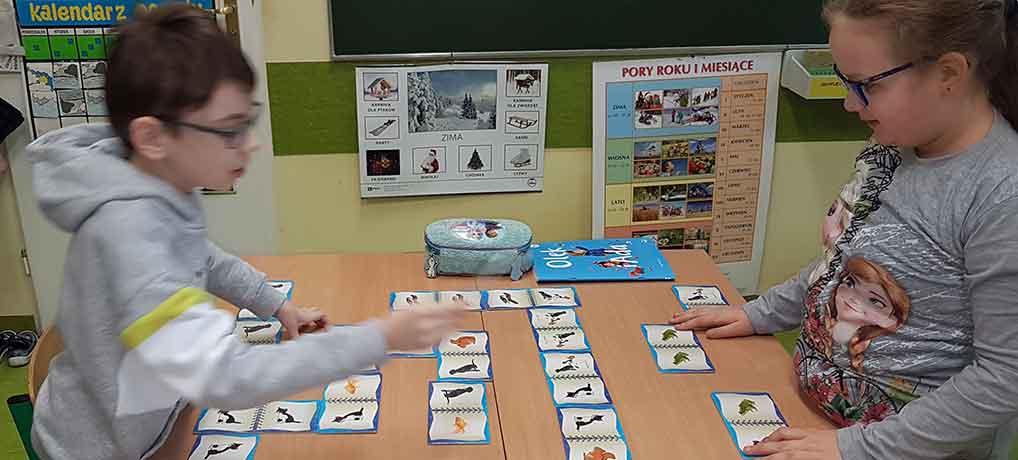 Domino w klasie 3e