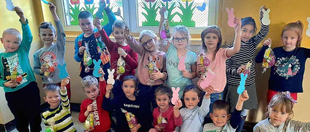 Wielkanocny czas w oddziale przedszkolnym Ob