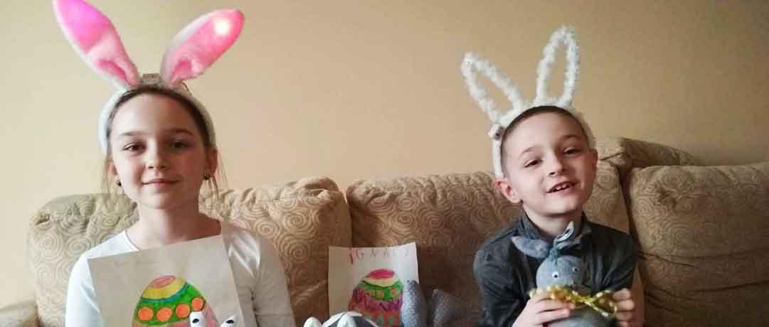 Zajączki Wielkanocne – oddział przedszkolny 0a, 0b