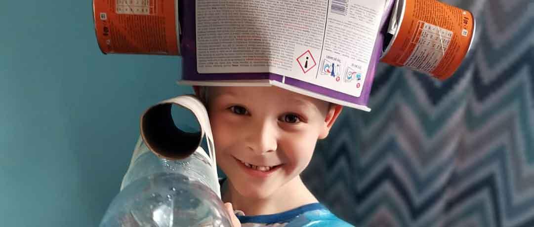 Eko-strój – Nauka zdalna w oddziale przedszkolnym 0b