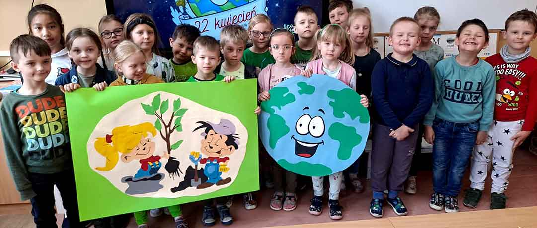 Dzień Ziemi w oddziale przedszkolnym 0b
