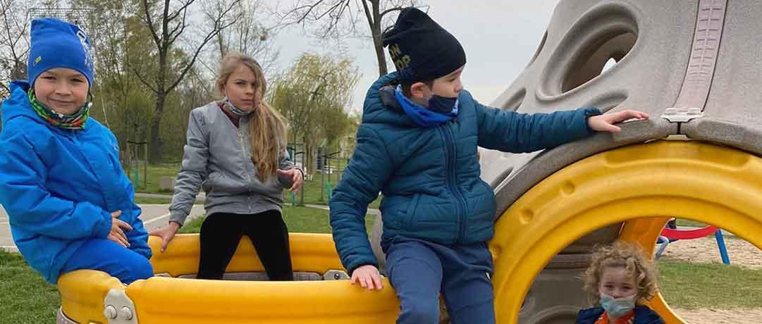 Spacer do parku i nad zalew – klasa 1a